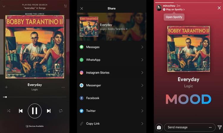 A ferramenta permite compartilhar o que está ouvindo no Spotify. (Imagem: Reprodução/Facebook)