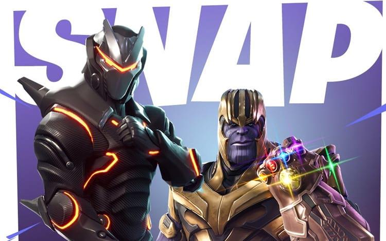 Thanos está chegando ao Fortnite para um crossover com Vingadores: Guerra Infinita