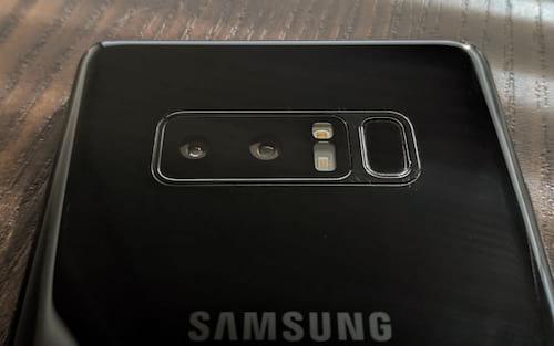 Galaxy Note 8 - Teste de câmera