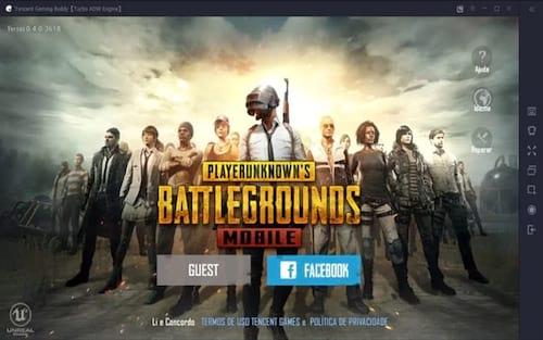 Jogue de graça PUBG no PC, pelo emulador oficial