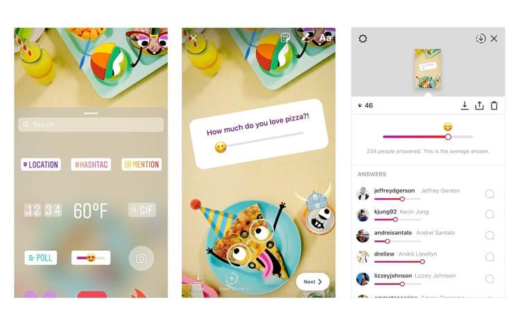 Instagram anuncia nova ferramenta para o Stories: o Slider Emoji