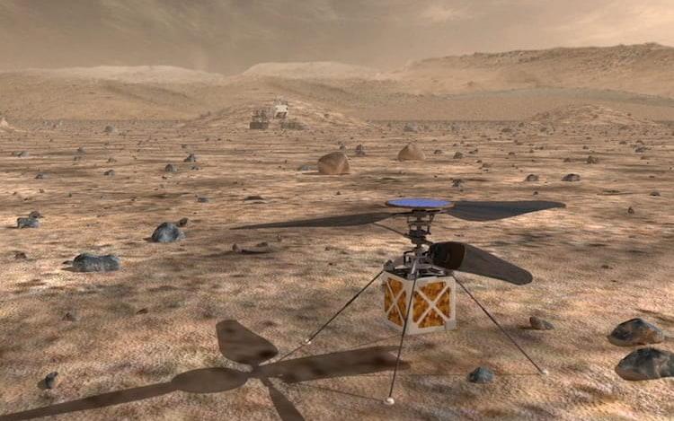 NASA deve enviar helicóptero para Marte em 2020.