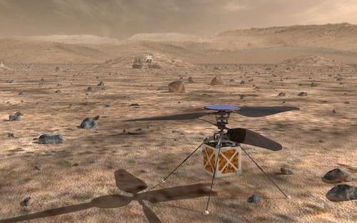 NASA deve enviar helicóptero para Marte em 2020