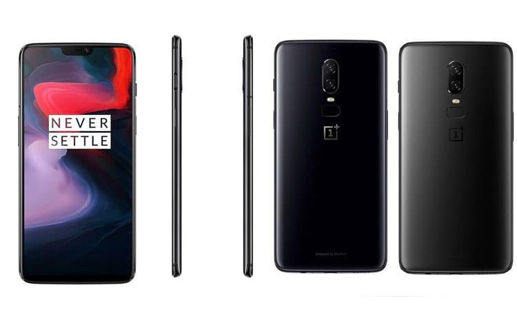 Design do novo OnePlus 6. (Imagem: Divulgação/Winfuture)