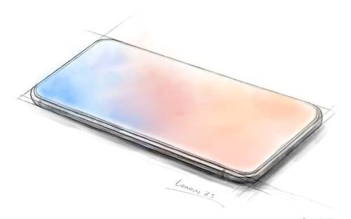 Lenovo vai lançar primeiro smartphone com tela infinita?