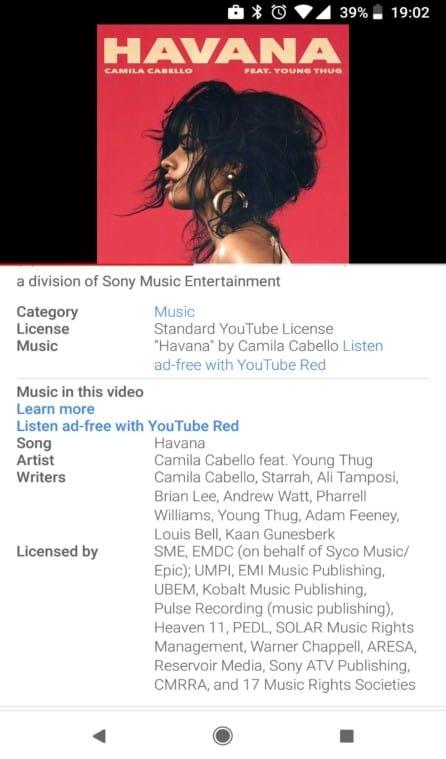 YouTube passa a mostrar nomes de musicas em vídeos. Por enquanto, apenas alguns usuários estão tendo acesso à novidade. O Google não informou quando chegará a todos.