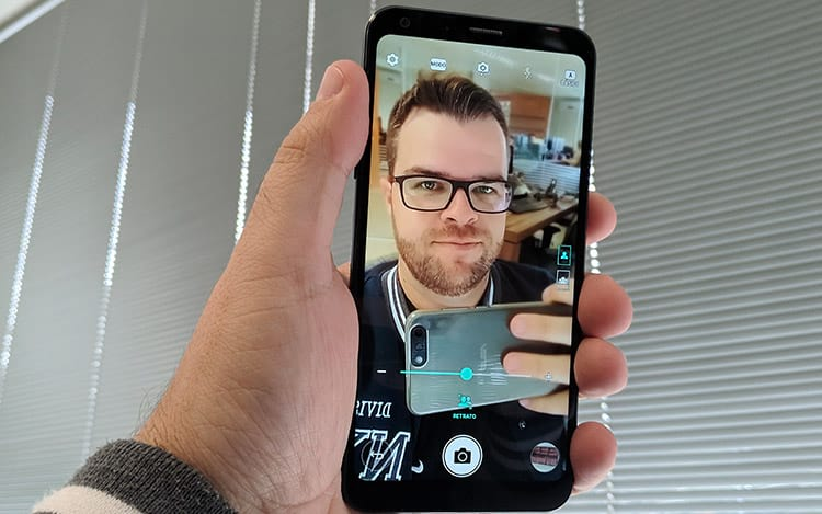Dispositivo ganha nova função de selfie com modo retrato