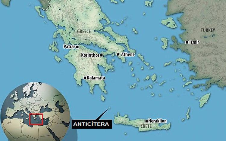 Mecanismo recebeu o nome da ilha ao qual ele foi encontrado