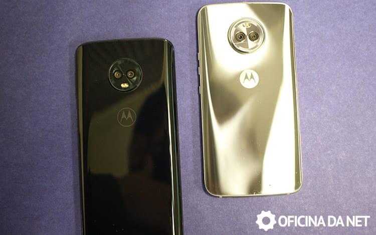 Comparativo com Moto X4