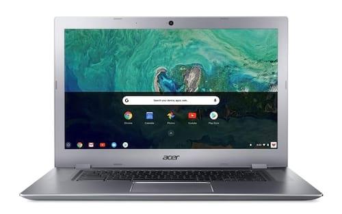 Acer introduz a flexibilidade da tela grande com o primeiro Chromebook conversível de 15