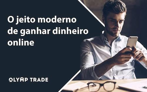 Investimento online na Olymp Trade: Dê uma olhadinha nessa forma de fazer dinheiro