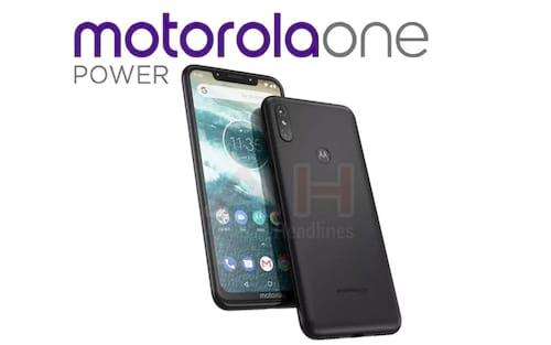 Imagens vazadas do Motorola One Power mostram um visual de iPhone X