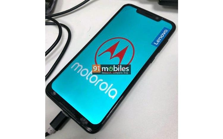 Imagem que vazou hoje, 01, do Motorola One Power.