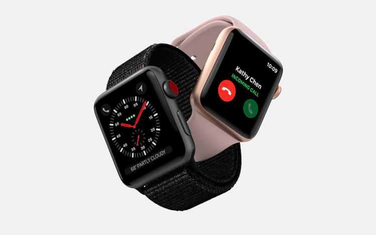 Apple Watch Series 3 Watch + Cellphone