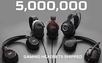 HyperX: 5 milhões de headsets vendidos no mundo todo