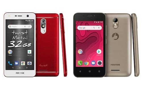 Positivo lança os primeiros smartphones com Android Go no Brasil: Positivo Twist Metal e Positivo Twist Mini