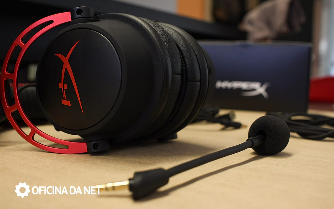 HyperX Cloud Alpha - Microfone