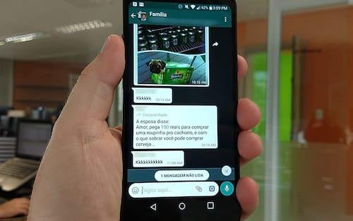 WhatsApp Beta passa a avisar se mensagem foi copiada/encaminhada