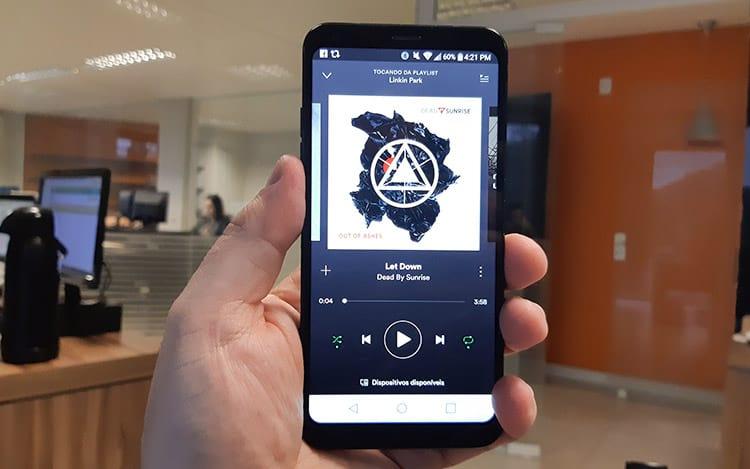 Spotify entre os serviços mais usados em smartphones no Brasil