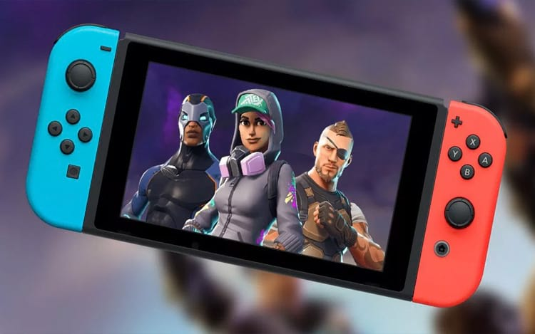 Fortnite chegou ao Switch.