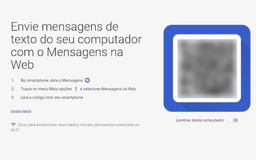 E o SMS fica como? Android Mensagens recebe versão para navegadores