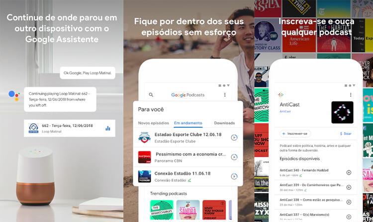 Imagens: Divulgação/ Google