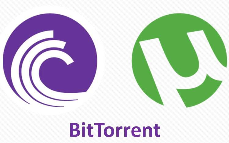 BitTorrent e uTorrent.