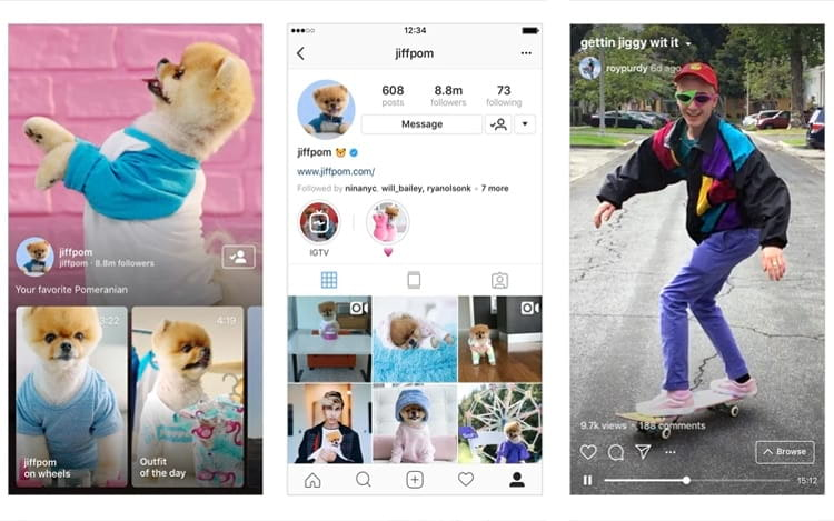Instagram lança o IGTV, concorrente ao Youtube?
