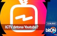 Instagram com TV e 1 bilhão de usuários / Facebook pagando grupos/ Marte azul - bitON