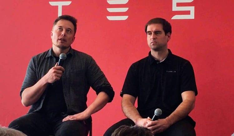 Elon Musk e Straubel