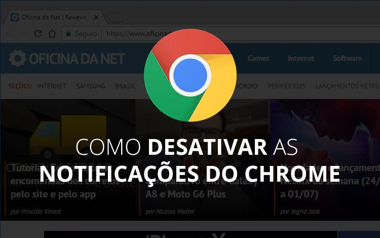 Como desativar as notificações do Google Chrome