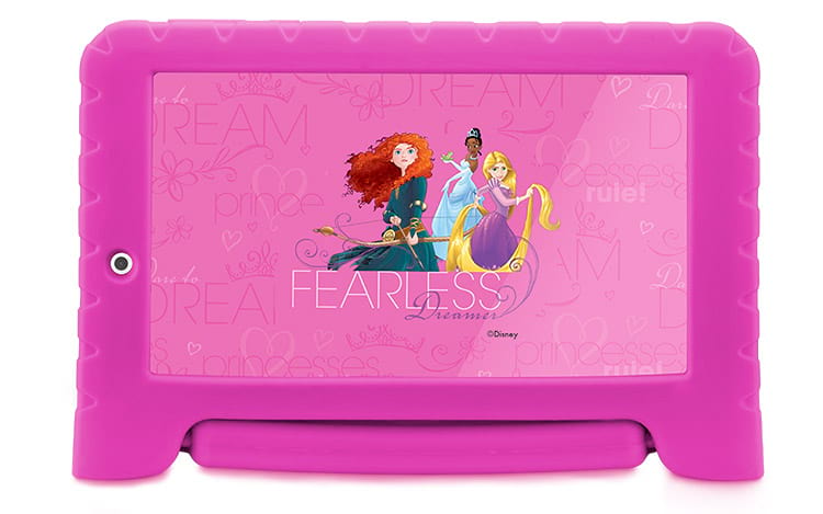 Tablet Infantil Disney Princesas Plus Multilaser