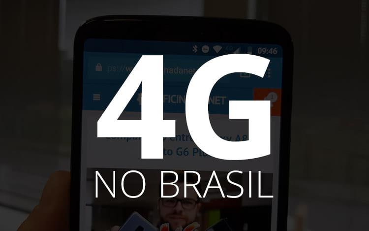 4G no Brasil: Cobertura, operadoras e mais