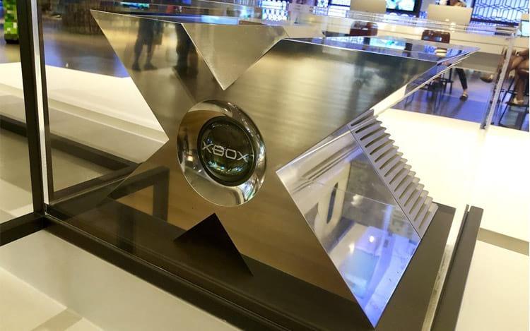 Microsoft exibe protótipo do Xbox Original no Centro de Visitantes em Redmond