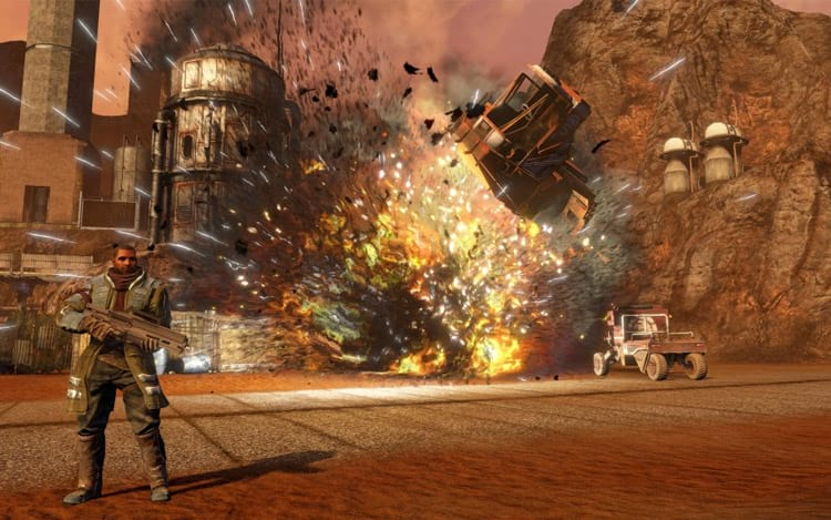Cena game Red Faction Guerilla Re-Mars-tered