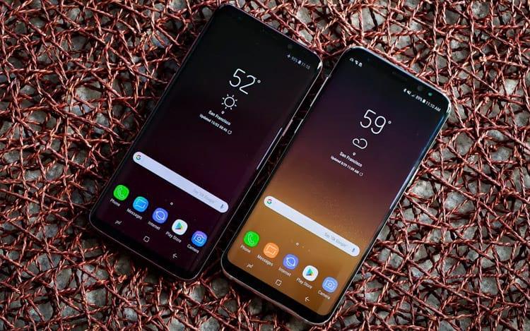 Companhia registra baixos números de vendas do Galaxy S9 e S9+