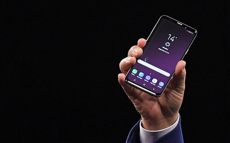 Lançamento do Galaxy S9.