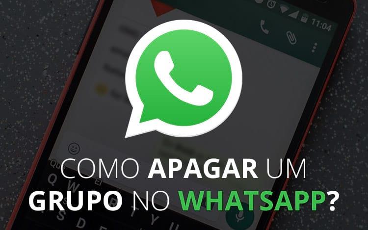 Como apagar grupo no WhatsApp?