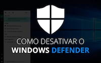 Como desativar Windows Defender no Windows 10 para sempre?