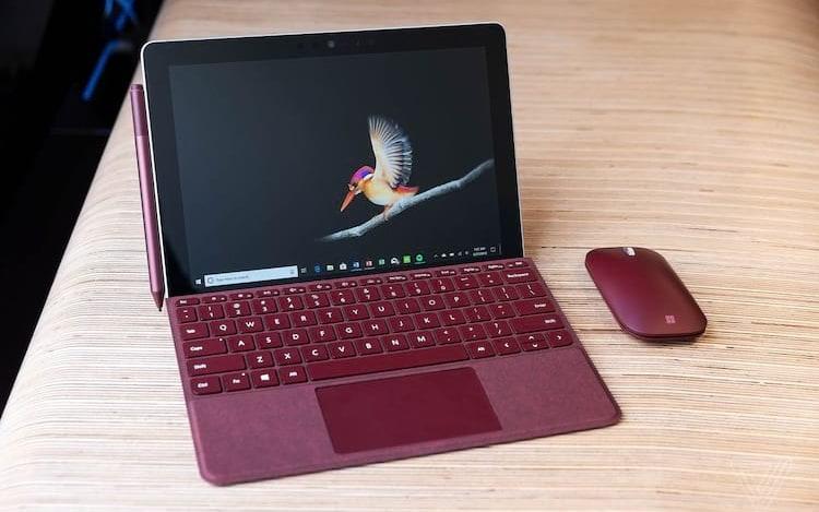 Microsoft anuncia novo Surface Go .