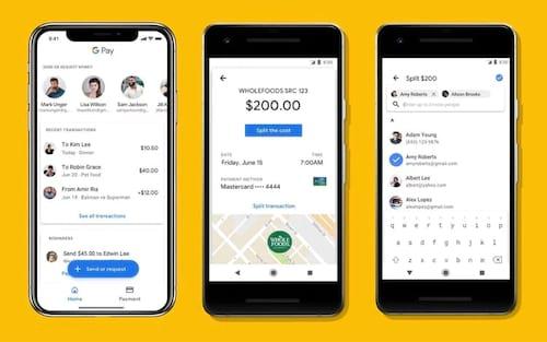 Google Pay lança suporte para pagamentos entre amigos e recurso para ingressos
