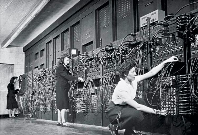 Everything that appears there is just a little bit of ENIAC