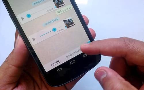 Como converter mensagem de áudio recebido em texto no WhatsApp