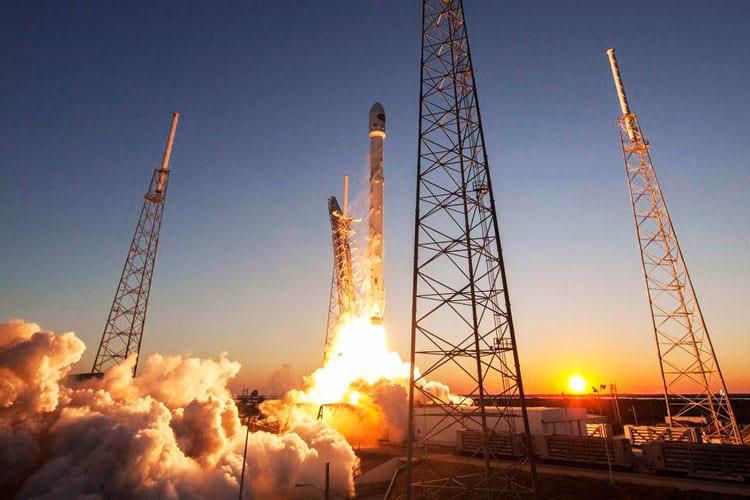 Falcon 9 sobe em mais uma missão