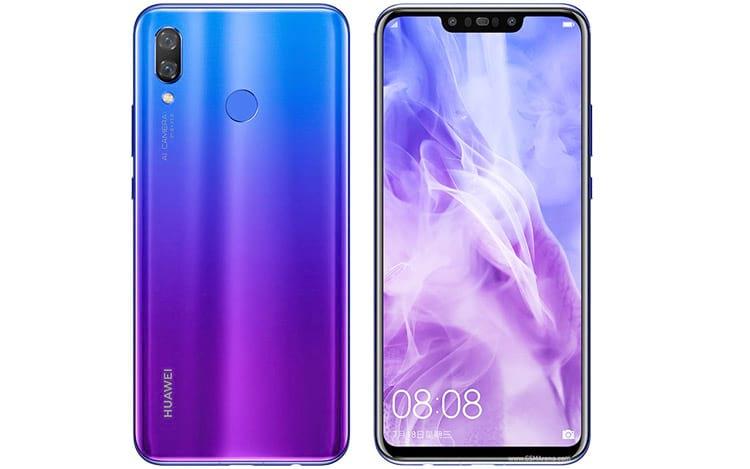 Huawei nova 3 e nova 3i