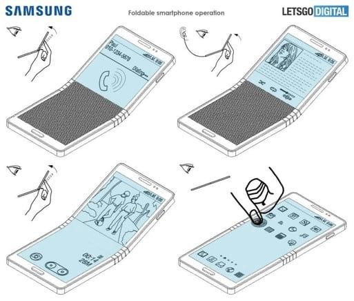Samsung deve lançar smartphone dobrável no próximo  ano.