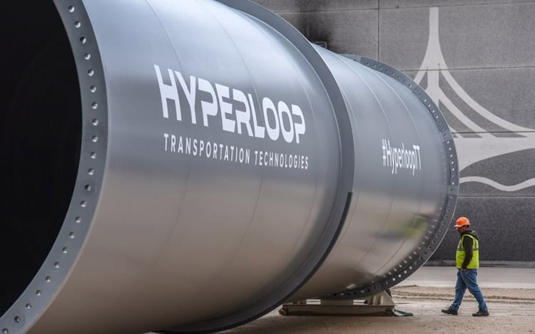 Primeiro acordo de hyperloop com a China