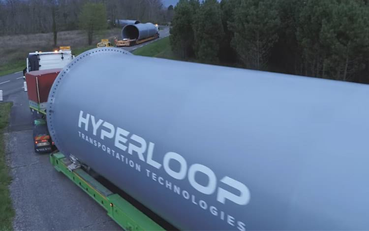 Hyperloop Transportation Technologies irá construir primeiro sistema Hyperloop da China