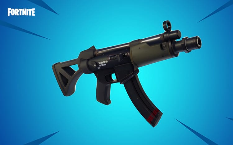 Submachine Gun (Imagem: Epic Games)