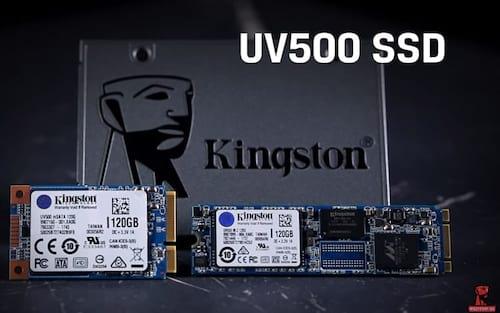 Kingston lança linha de SSDs UV500 com criptografia baseada em hardware